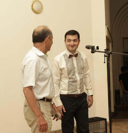 Հայաստանի նկարիչների միությունում բացվեց Արամ Դանիելյանի անհատական ցուցահանդեսը