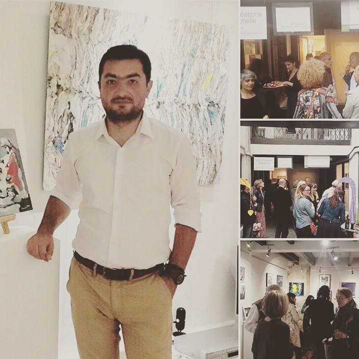 2016 թ. հուլիսի 2-ին նկարիչ Արամ Դանիելյանը մասնակցեց Փարիզի սրտում՝ Լուվրի հարևանությամբ, Galerie De Columbier ցուցասրահում տեղի ունեցած ցուցահանդեսին, «Summer Motion» փառատոնի շրջանակներում
