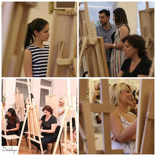 More than а month ago painting courses of a new school year started at Danielyan Art Studio...