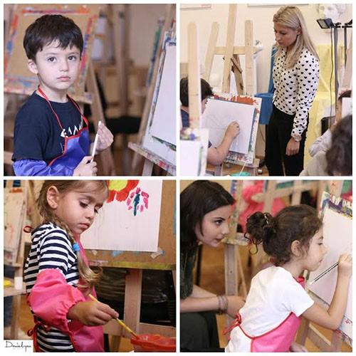Դանիելյան Արվեստի Կենտրոնում արդեն մեկ ամիս է ինչ մեկնարկել են նոր ուսումնական տարվա փոքրիկների նկարչության դասընթացները...