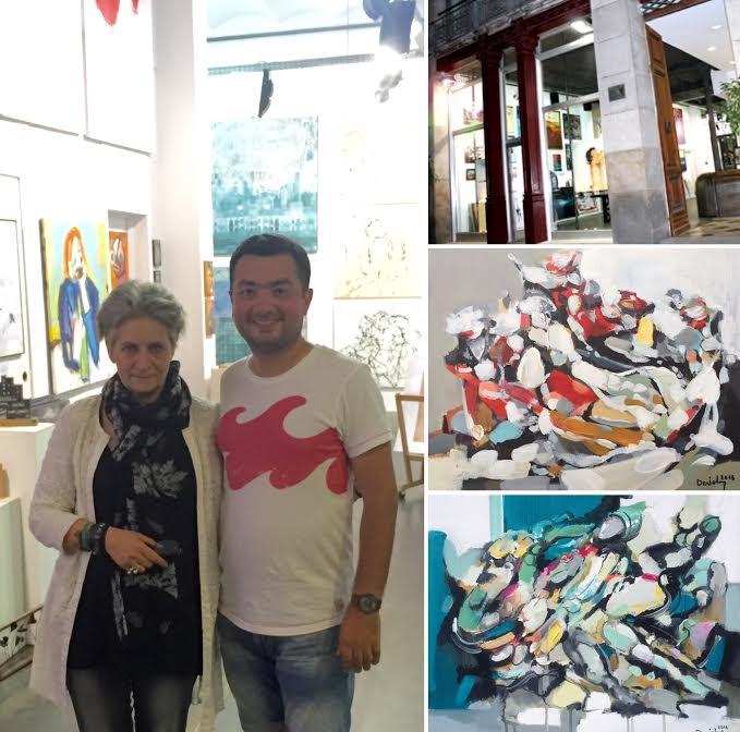 2016 թ-ին նկարիչ Արամ Դանիելյանի նկարները տեղ գտան, այս անգամ արդեն, մշտական ցուցադրության շարքում, Իսպանիայի Բարսելոնա քաղաքում, «Artevistas Gallery» ցուցասրահում