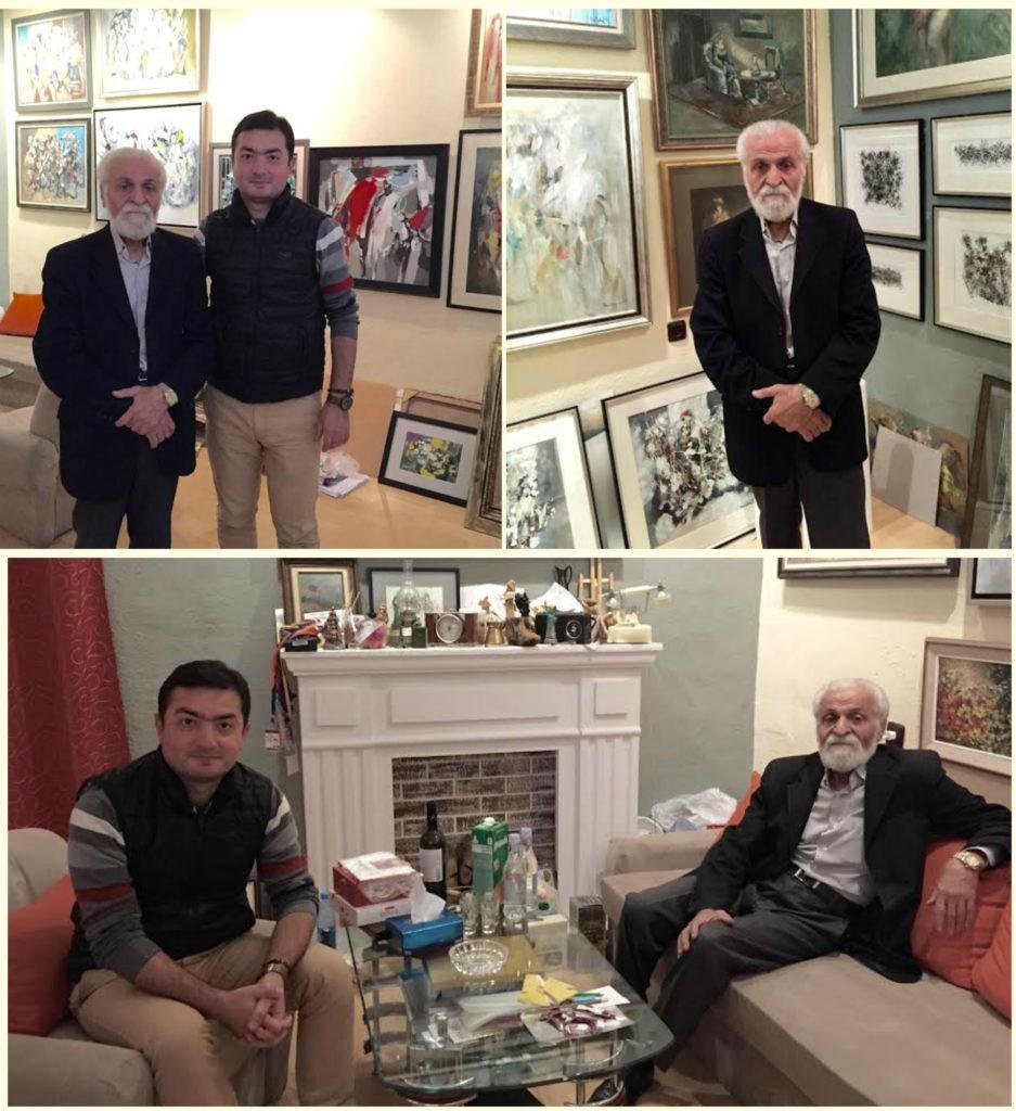 Այս  անգամ նկարիչ Արամ Դանիելյանի հյուրն է ՀՀ վաստակավոր նկարիչ, նկարիչ Արամ Դանիելյանի ուսուցիչ, ավագ ընկեր, գործընկեր և խորհրդատու՝ Վլադիմիր Աբրահամյանը: