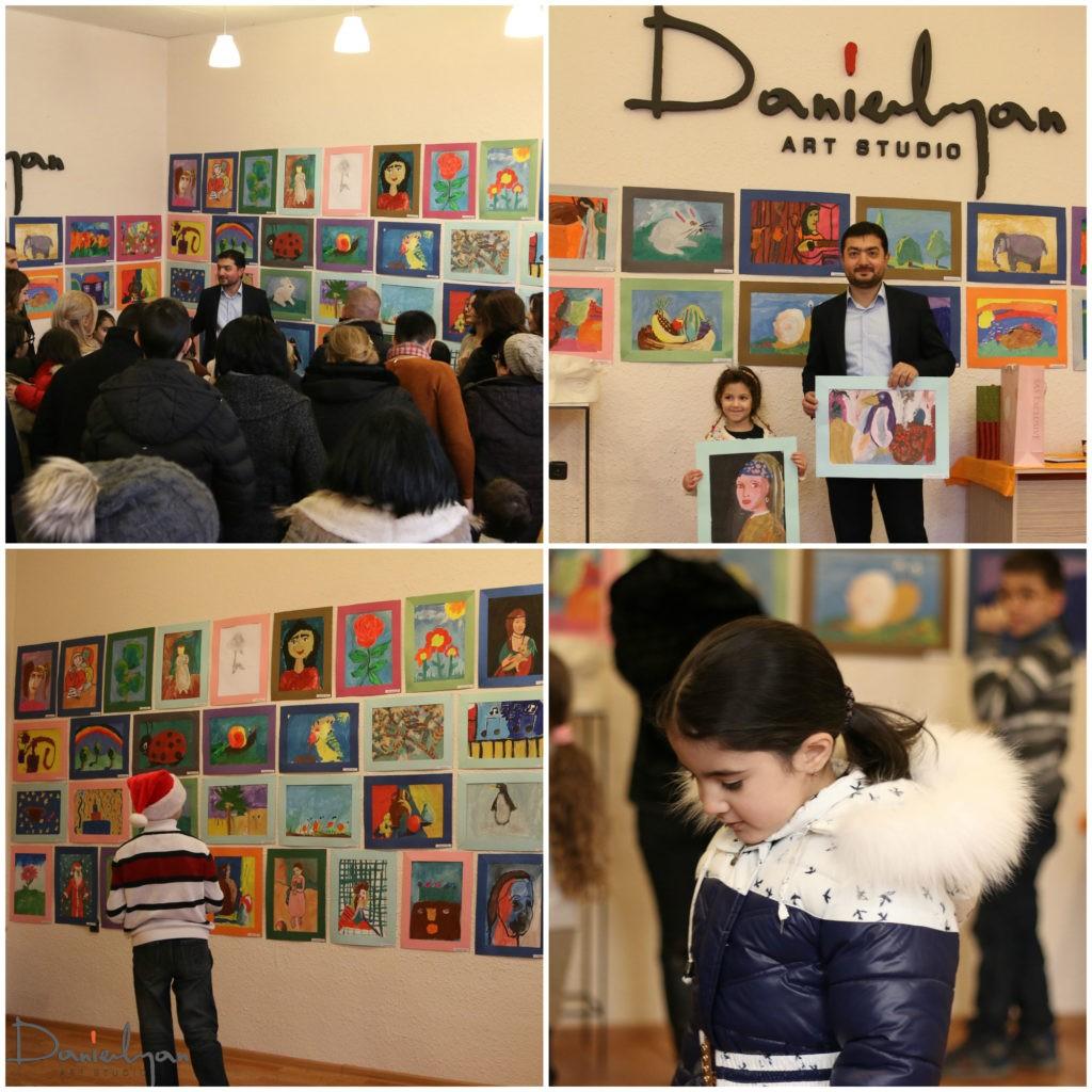 «Դանիելյան» Արվեստի Կենտրոնի փոքրիկ հրաշքների հաշվետու ցուցահանդեսը