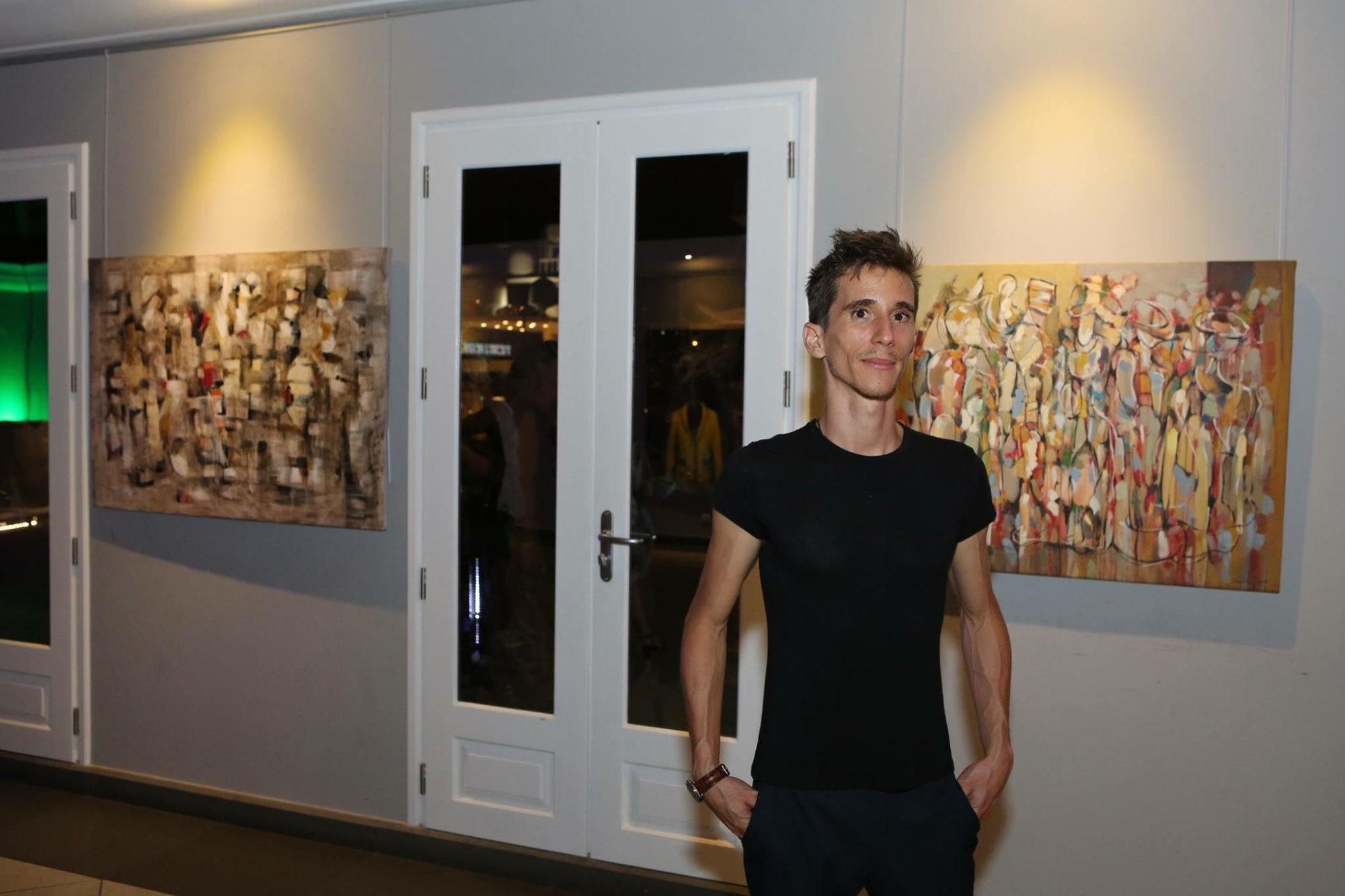 """Artist Aram Danielyan's participation in """"St Barth Art Fair"""""""