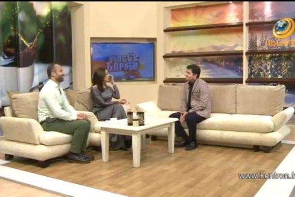 Художник Арам Даниелян стал гостем утренней программы «Сксенк нориц», в эфире Кентрон ТВ (VIDEO)
