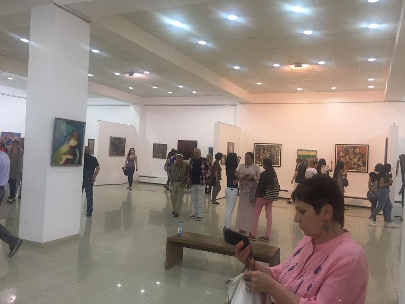 Նկարիչ Արամ Դանիելյանի աշխատանքը՝ «Արդի գեղանկարչություն» խորագրով հանրապետական ցուցահանդեսին