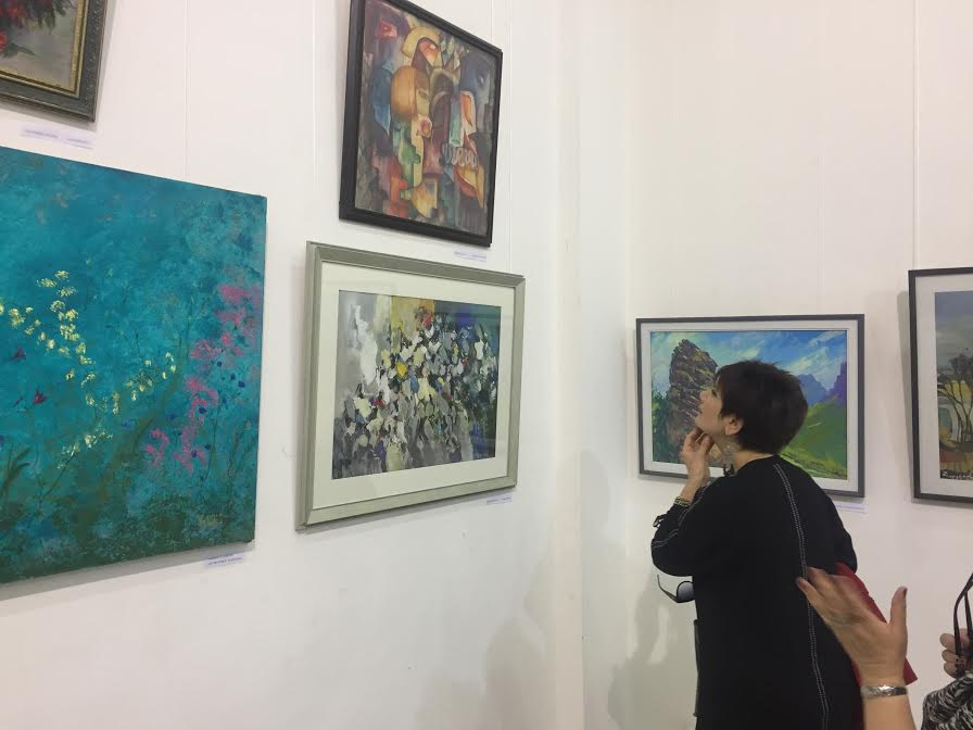 "The opening ceremony of Republican Exhibition named ""Colors of Spring"" took place in the Artists' Union of Armenia"