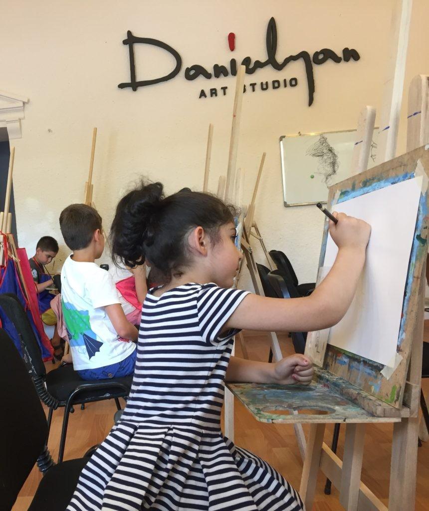 «Դանիելյան» արվեստի կենտրոնի փոքրիկ հյուրը Էստոնիայից