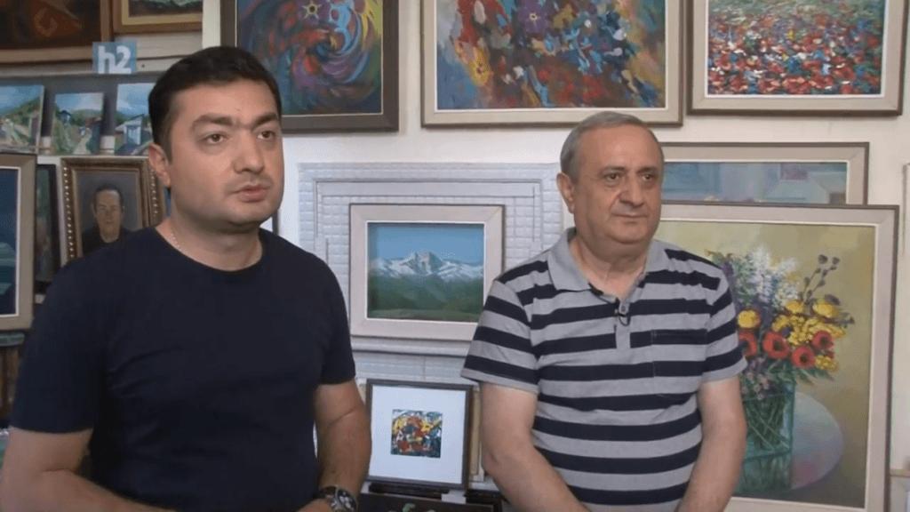 Այս անգամ «Չէին սպասումը» այցելել է նկարիչ Հրանտ Դանիելյանին