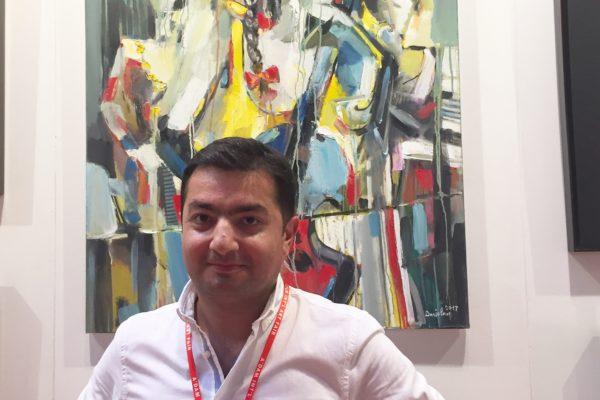 """Նկարիչ Արամ Դանիելյանի «Մեղեդի» աշխատանքը մասնակցեց """"Amsterdam International Art Fair 2017"""" միջազգային ցուցահանդես-վաճառքին"""