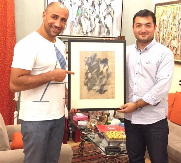 Այս անգամ նկարիչ Արամ Դանիելյանի հյուրն է պրոֆեսիոնալ բռնցքամարտիկ Արթուր Աբրահամը