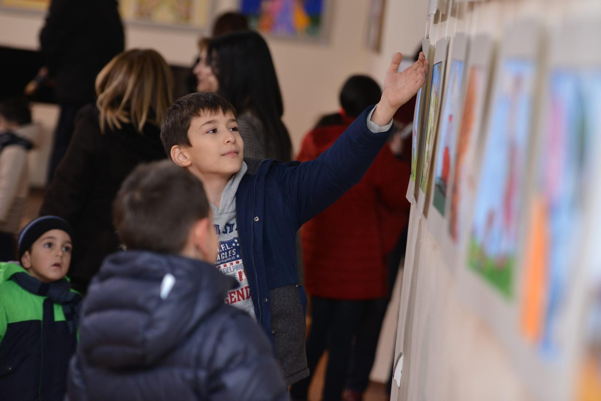 Торжественное открытие ежегодной отчетной выставки студентов «Художественной студии Даниелян» в Союзе художников Армении (VIDEO, PHOTO)