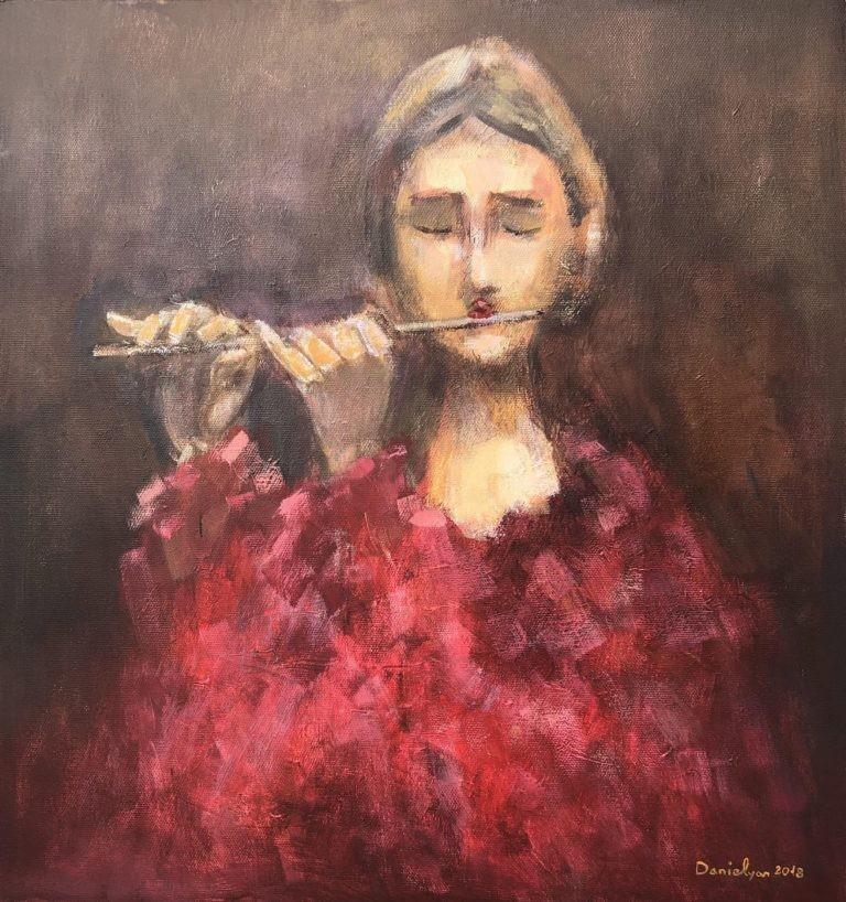«Флейтистка»