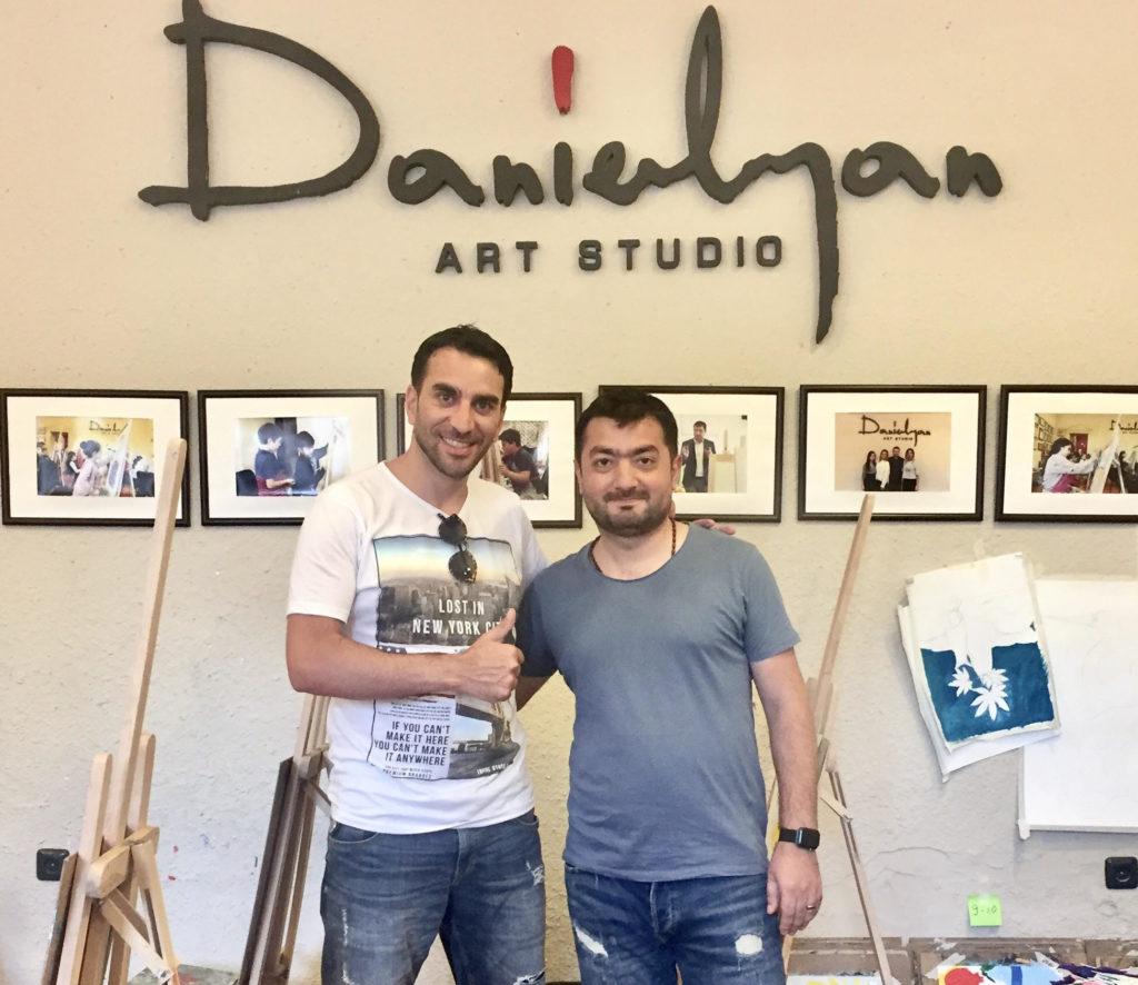 Այսօր «Դանիելյան» արվեստի կենտրոնի հյուրն էր Ռաֆայել Երանոսյանը